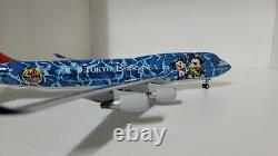 1200 Blue Box Japan Airlines B747-400 JAL 50th TOKYO Disney SEA JA8912