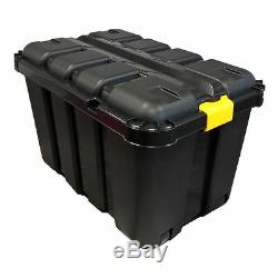 145l Tool Box With V Groove & Wheels For Easy Transportation
