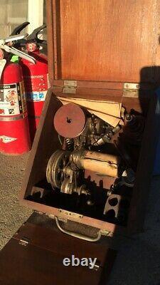 1800s CORLISS STEAM ENGINE VALVE TIMING KIT IN ORIGINAL BOX! ROBERTSON-THOMPSON