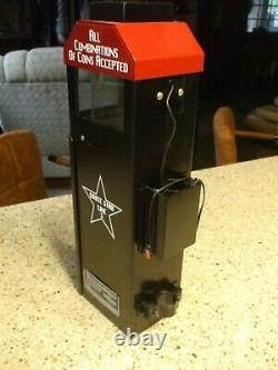 1950's Bus or Trolley Fare Box withnight lite Main Johnson Cleveland Bank Mancave