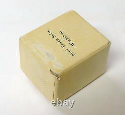 1960's Rare Ford Truck Sales Workshop Sterling Award Ring with the Original Box