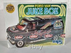 1980 MPC Ford Van Juke Box 125 Model Kit # 1-0439
