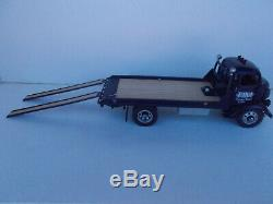 1/24 Danbury Mint 1938 GMC Flatbed Car Carrier with box & Accessories READ+++