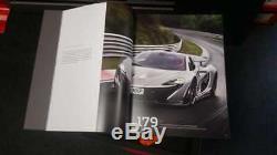 2020 Mclaren F1 / P1 / Senna / Speedtail / Gt Hardback Vip Prospekt Brochure Box