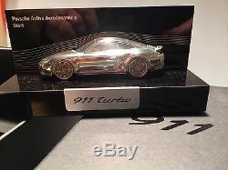 911 Porsche Turbo Promo CAR Box MODEL & BROCHURE