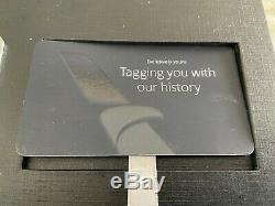 AMERICAN AIRLINES ConciergeKey 767 Genuine Skin N39356 Luggage Tag Gift Box AA