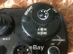 AVRO LANCASTER BOMBER SWITCH BOX Mk X1V BOMB AIMER'S 1943 NEW WRAPPED IN BOX