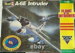 A-6e Intruder Original Revell Models Box Top Studio Fine Art Painting 1990