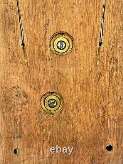 Antique Mackay Bennett Postal telegraph telegram railroad cable 1880s call box