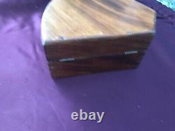 Antique Ships Sextant Wooden Box Chest Case Maritime Nautical