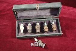 Antique Spark Plug Salesman Sample Kit Original Box Furber Co. Mosler Pat 1898
