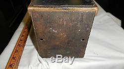 Antique Trolley Fare Box old Cleveland Farebox Chicago, ILL