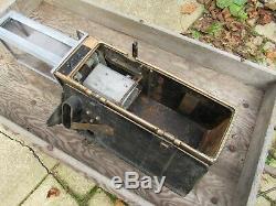 Antique Trolley or Bus Fare Box Cleveland Farebox Cleveland Ohio