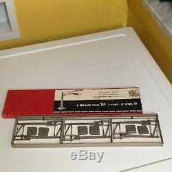 Aristocraft Eheim Trolley Bus System Expansion Set. Complete Doubling Boxed Kit