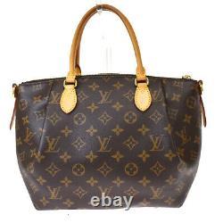 Auth LOUIS VUITTON Turenne PM Hand Bag Monogram Leather Brown M48813 25MH689