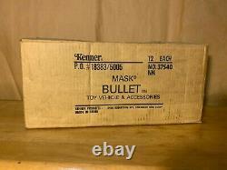 BULLET TRANSPORTATION BOX INCLUDES 12 UNITS, M. A. S. K. Kenner