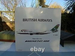 Blue Box 1/200 Scale Boeing 747-400 British Airways G-bnln Bx7474026