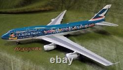 Blue Box 200 Cathay Pacific B747-400 Same team same dream Inflight 200 1200