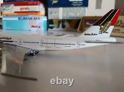 Blue Box Gulf Air Boeing 747-200 1400 OD-AGI Rare like Aeroclassics Gemini Jets