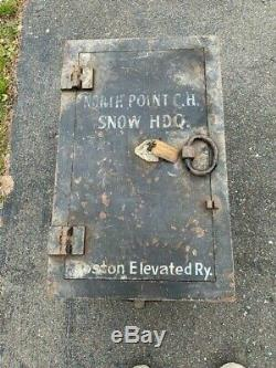 Boston Elevated Railway, Railroad Strong Box