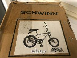 Brand New In Factory Box 2017 Schwinn Grey Ghost Limited Edition Reproduction