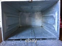 British Airway Half Meal Aluminium Galley Box. Aviation. Boeing 747. First Class