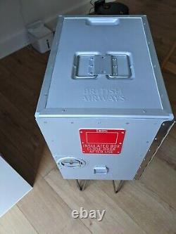 British Airways 747 Galley Box storage cabinet