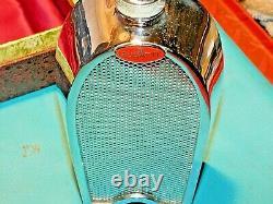 Bugatti Radiator Flask Decanter Ultra Rare C1960 Boxed Automobilia Collectable
