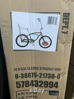 CLASSIC Schwinn Green StingRay Banana Seat Brand NEW in BOX