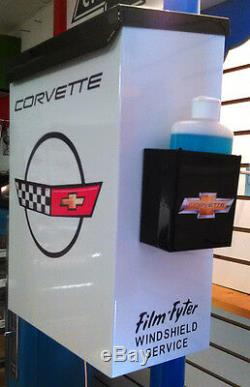 Chevrolet Corvette Retro C4 Style Dealership Repair Shop Towel Box Dispenser