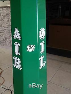 Classic 1930s 1940s 1950s Sinclair Dino Gas Station Island Light With Towel Box