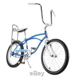 Classic Schwinn Blue Sting-Ray Banana Seat Bicycle 20-Inch Wheels, New In Box