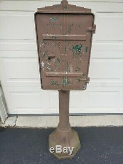 Crouse Hinds Motor Flashing Switch Stop Light Traffic Signal Control Box