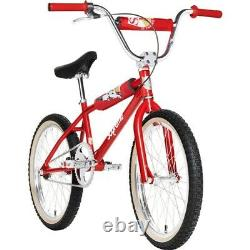 DEADSTOCK SUPREME x S&M 1995 BMX DIRTBIKE RED BIKE NEW IN BOX EXTREMELY LIMITED