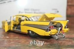 Danbury Mint 1/24 Scale 1957 Chevrolet Pro Street Hardtop In Box No Title