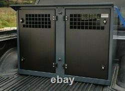 Dog Box UK Dog Transportation Box Cage Crate Pick Up Weatherproof Isuzu DB130