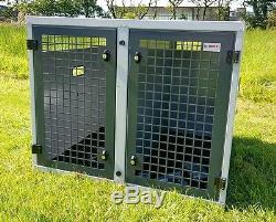 Dog Box UK Dog Transportation Box Crate K9 Discovery 3/4 Double Box