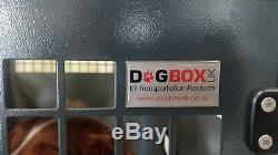 Dog Box UK Single Dog Transportation Box Crate K9 DB9 L200 Ranger Van