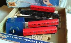 EVER READY 00 Gauge TUBE TRAIN BOXED SET LONDON TRANSPORT UNDERGROUND VGC