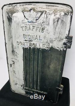 Eagle Signal Traffic Light Control Box Vintage 1970s