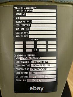 Ejection Seat Fiberglass Parachute Box NOS F4 Phantom Fighter Jet Martin Baker