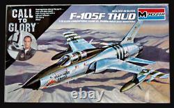 F-105f Thud Original Monogram Models Box Top Studio Fine Art Painting 1985