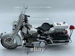 Franklin Mint 1976 Harley Davidson Police Patrol Electra Glide Motorcycle NO BOX