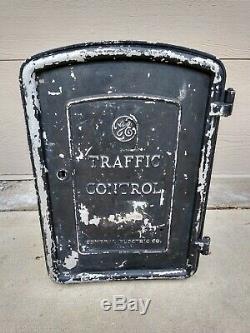 GE General Electric Traffic Signal Control Box Novalux