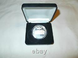 HARLEY-DAVIDSON 100th ANNIVERSARY. 999 SILVER COIN RARE MINT IN BOX