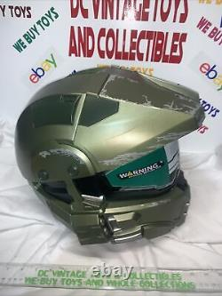 Halo MASTER CHIEF MOTORCYCLE HELMET Size Large in Box Neca DOT Certified