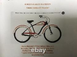 Harley Davidson Limited edition 1997 GT bicycle, New In Box
