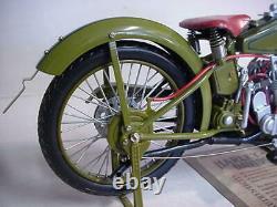Harley Davidson New In Box 1917 Metal 1/6 Motorcycle Bike Xonex Limited L@@k