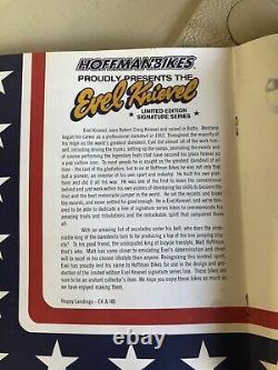 Hoffman Evil Knievel BMX bike never Assembled still in box