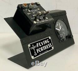 IFF Friend or Foe Identification Switch Box Display, WWII Aviation B-17 OFF-0112